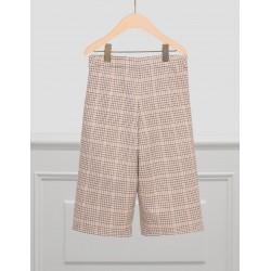 Pantalone Culotte Quadri