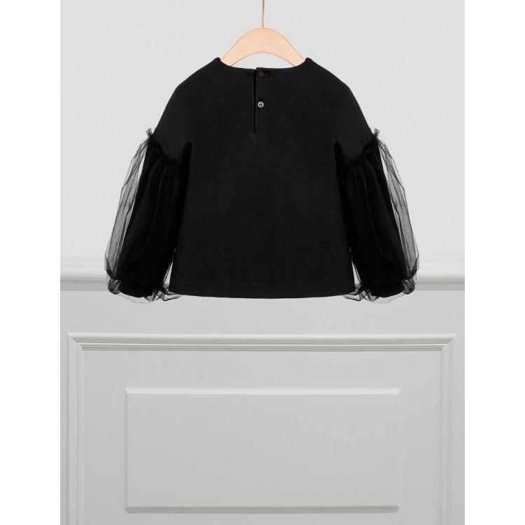 Maglione Applicazione Floreale